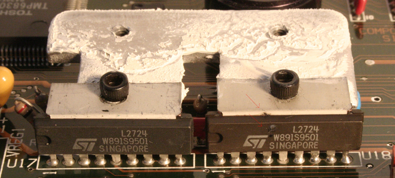 L2724 Group on a Motherboard of a LX200 Classic